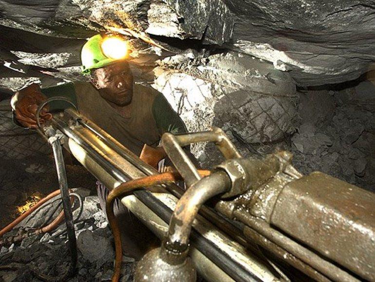 Золотые шахты Южной Африки