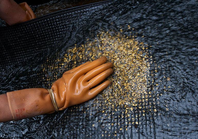 Добыча золота в Мексике